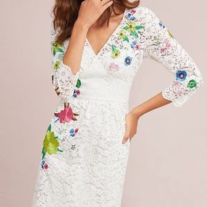 ANTHROPOLOGIE Adaline Lace Dress by Tracy Reese
